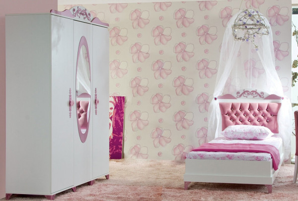 Kinderzimmer Pretty rosa Mädchenzimmer Spar Set 2 teilig