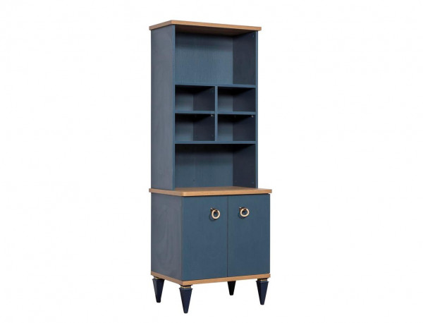 Bücherregal Gusto blau