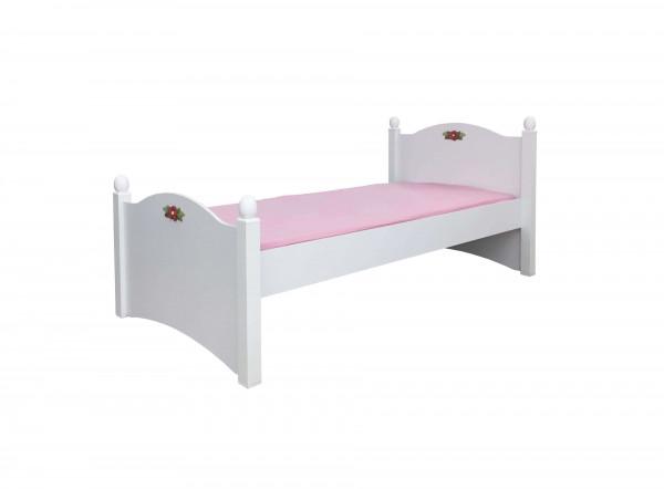 Kinderbett Cindy weiß 90x200cm