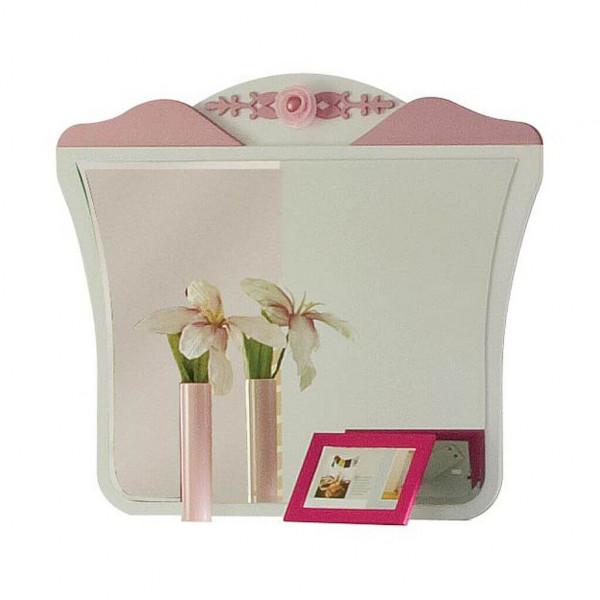 Spiegel Pretty weiß/rosa