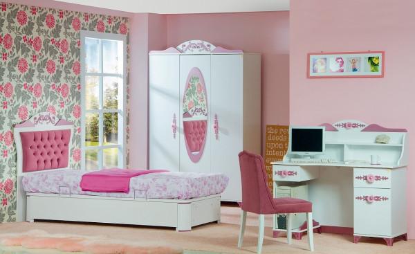 Spar-Set Kinderzimmer Pretty rosa Mädchenzimmer 6 teilig