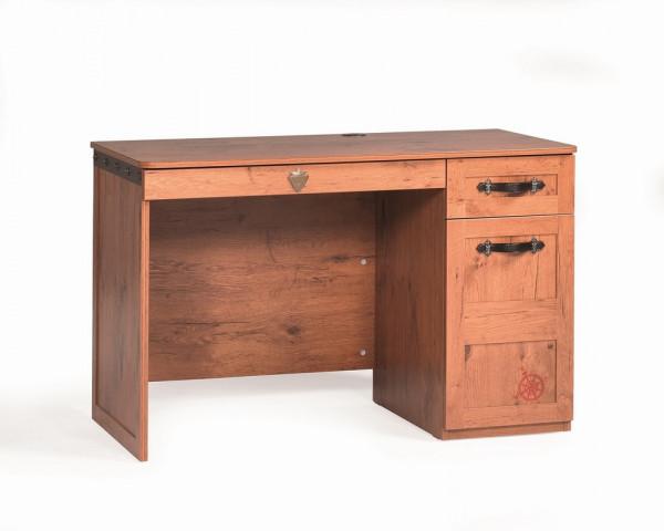 Schreibtisch Pirat braun