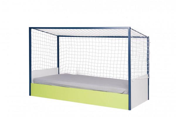 Kinderbett Fußball Tor 90x200 cm mit Netz